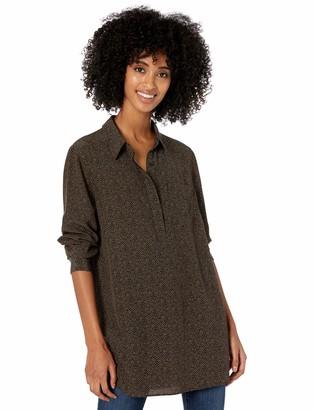 Goodthreads Amazon Brand Women's Viscose Popover Tunic