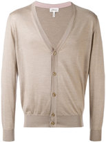 Brioni V-neck buttoned cardigan - men - Silk/Cashmere - 48