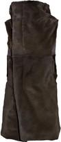Rick Owens Kangaroo sleeveless coat