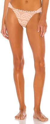 Pilyq Lace Fanned Teeny Bikini Bottom