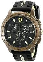 Ferrari Men's 830244 Scuderia XX Watch with Black Silicone Band