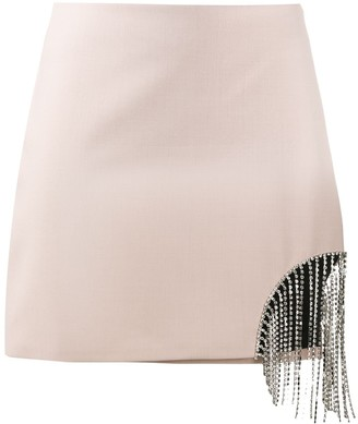 Area Hanging Rhinestone Skirt