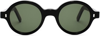 L.G.R Reunion Bold Black Sunglasses