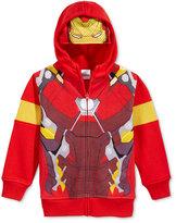 Marvel Little Boys' Ironman Costume Hoodie