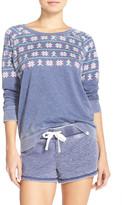 Honeydew Intimates Crew Neck French Terry Sweatshirt