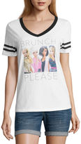 Hybrid Tees Brunch Please Barbie Graphic T-Shirt- Junior