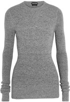 Tom Ford Ribbed Cashmere Sweater - Gray