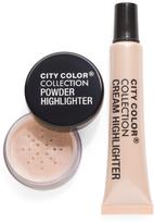 2pc Highlighting Cream And Powder Set