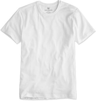 Mack Weldon Silver Crew Undershirt in Bright White