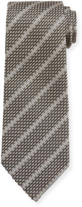 Tom Ford Small Striped Silk Tie