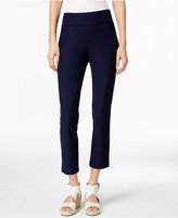 Eileen Fisher Washable Stretch Crepe Cropped Pants, Regular & Petite