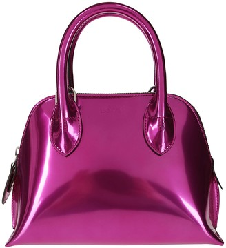 Lanvin Fuchsia Leather Magot Mini Tote Bag