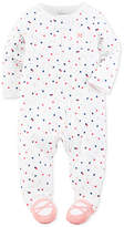 Carter's 1-Pc. Dot-Print Ballerina Footed Coverall, Baby Girls (0-24 months)