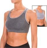 Reebok Everyday Sports Bra - Medium Impact, Reversible (For Women)