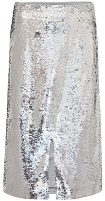 Ganni Sequined skirt