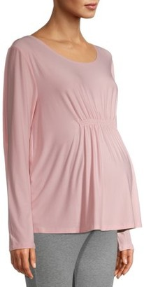 Time and Tru Maternity Blouse with Smocking (Available in Multiple Colors)