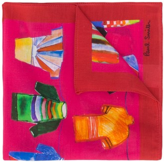 Paul Smith Football Kit Print Handkerchief