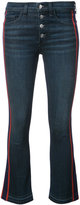 Veronica Beard Carolyn ribbon trim jeans