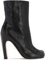 Maison Margiela 105mm Tabi Snake Embossed Leather Boots