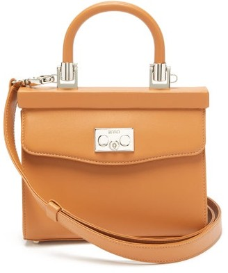 Rodo Paris Small Leather Cross-body Bag - Tan