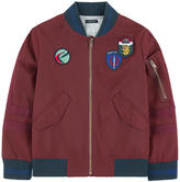 Ikks Bomber jacket with patches