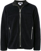 H Beauty&Youth shearling zipped cardigan