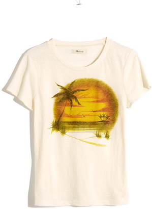 Madewell Airbrushed Souvenir Lo-Fi Graphic Tee