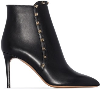 Valentino Rockstud 85mm ankle boots