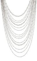 Natasha Accessories Multi-Strand Chain Necklace