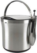OXO Stainless Steel Ice Bucket & Tongs Set