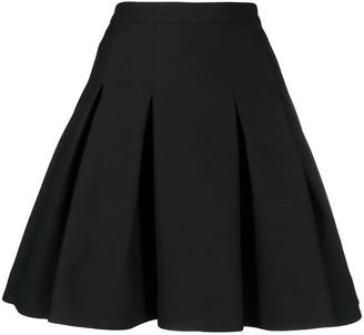 Valentino Pleated Full Skirt