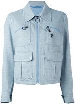 Neil Barrett fleur-de-thunder pin jacket