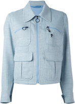 Neil Barrett peacoat denim jacket - women - Cotton - S
