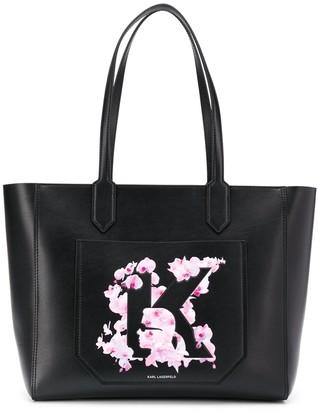 Karl Lagerfeld Paris K/Orchid tote bag