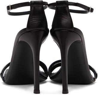 Giuseppe Zanotti Black Zelda Heeled Sandals