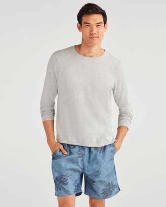 7 For All Mankind Riviera Sweater in Heather Grey