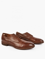 Officine Creative Brown Princeton Leather Shoes
