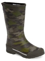 Western Chief Boy's Classic Ex Camo Waterproof Rain Boot