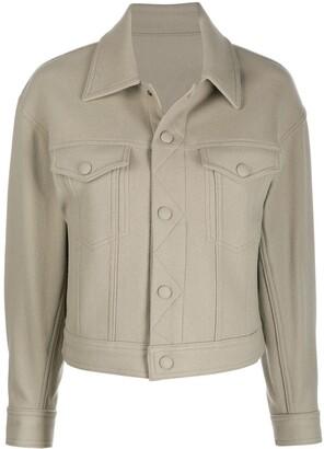 AMI Paris Boxy Fit Jacket