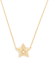 Delfina Delettrez Diamond & yellow-gold necklace