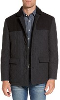Hart Schaffner Marx Men's 'Shooter' Wool Blend Quilted Jacket