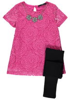 George Top, Leggings and Detachable Necklace Set