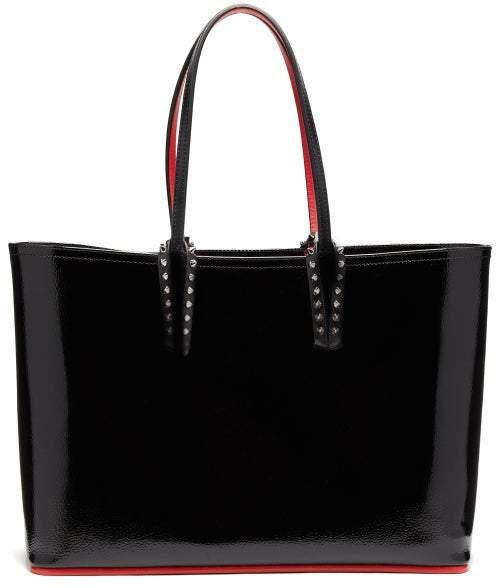 1f9ae8b95a8 Cabata Patent Leather Tote - Womens - Black
