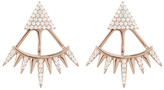 Ashley Schenkein Jewelry - Melrose Cz Triangle Spike Earring