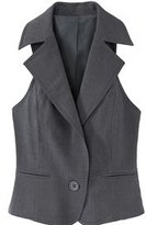 Signature Two-Way Stretch Collection: Shawl-Collar Vest