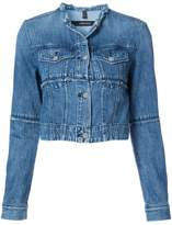 J Brand cropped denim jacket