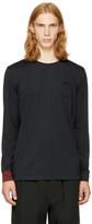 3.1 Phillip Lim Black Long Sleeve Double T-Shirt
