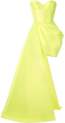 Alex Perry Regina drape dress