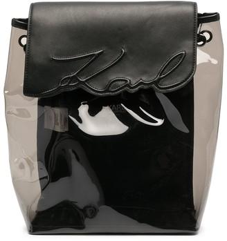Karl Lagerfeld Paris Signature backpack
