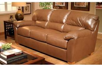 Omnia Leather Cedar Heights Armchair Omnia Leather Fabric: Empire - Black
